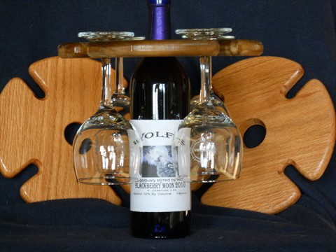 Wine Bottle Glas Holder (3)